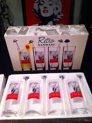 Brand New!! 8-piece Retro Barware Set for Sale in Las Vegas, NV