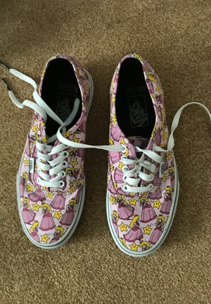 Size 8 women's Princess Peach Vans for Sale in Vancouver, WA