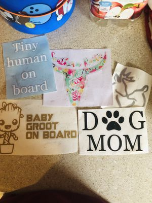 Car decals for Sale in Packwood, IA