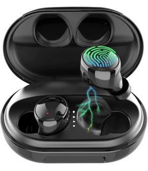 NEW Wireless Earbuds Bluetooth 5.0 Headphones, 120H Playtime Deep Bass Stereo Sound Earbuds with Microphone, IPX8 Waterproof Headphones with Charging for Sale in Alhambra, CA