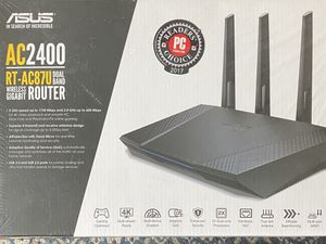 Asus AC2400 RT-AC87U Router New for Sale in Santa Clarita, CA