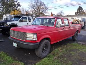 1992 Ford F-350 CCLB Project for Sale in Portland, OR