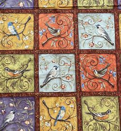 Bird Fabric Panel for Sale in Aberdeen,  WA