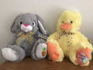 Easter plush friends (new) for Sale in Temecula, CA