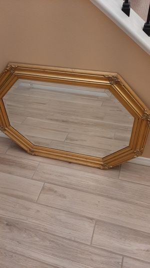 Octagon wall mirror with beveled edge glass for Sale in Simi Valley, CA