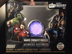 Marvel Cinematic Universe: Phase One - Avengers Assembled - 10-Disc Blu-ray Gift Set (Widescreen) for Sale in Hayward, CA
