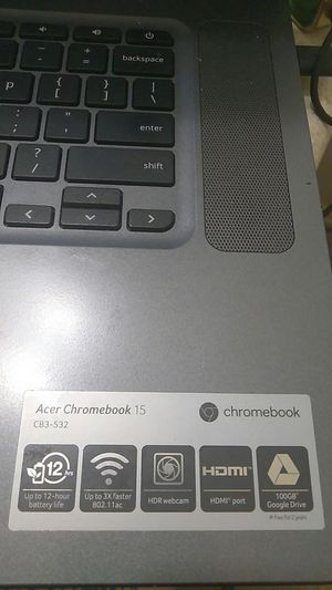 Acer Chromebook 15 for Sale in Austin, TX