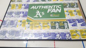 Tickets from last year's Oakland athletics game with frame for Sale in Vallejo, CA