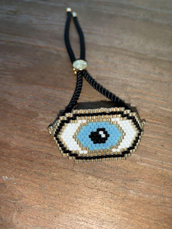 Handmade bohemian adjustable good luck bracelet I do only ship through OfferUp
