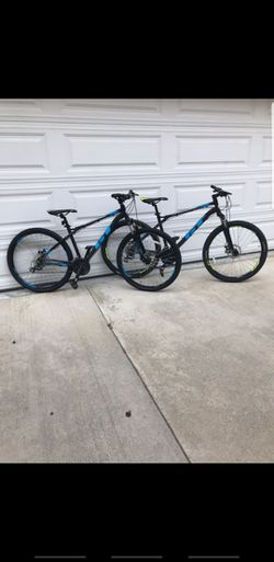2 X GT mountain Bikes Both For 1150$ Size Medium And Large Wheels 27.5 Speeds 24 for Sale in Pasadena,  CA