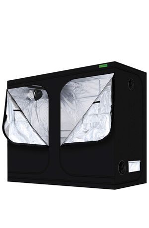 """Grow Tent 96""""x48""""x80""""Mylar Hydroponic Grow Tent with Observation Window and Floor Tray for Indoor Plant Growing 8'x4' for Sale in Warren, MI"""