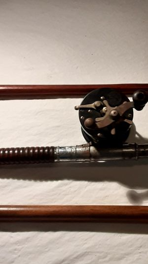 Antique (1920s)2 Handles Surf Fishning Rod and Reel for Sale in St. Petersburg, FL