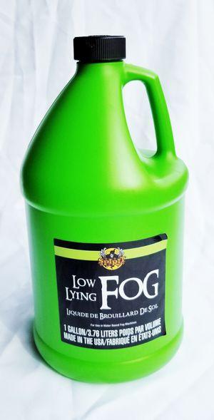 Premium Low Lying Fog Machine Smoke Fluid, sticks to the ground longer for Sale in San Diego, CA