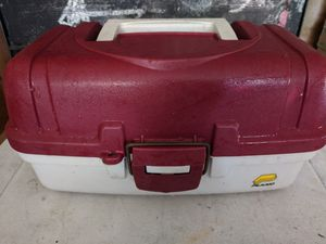 Fishing tackle box for Sale in St. Petersburg, FL