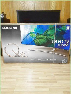 65 inch Samsung Curved QLED 4K SMART Q8 series for Sale in Washington, DC