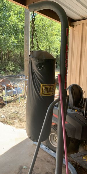 Punching bag with stand for Sale in Burleson, TX