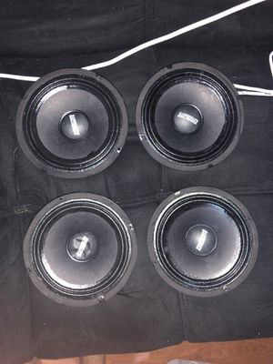"""6.5"""" speakers earthquake highs for Sale in Bartow, FL"""