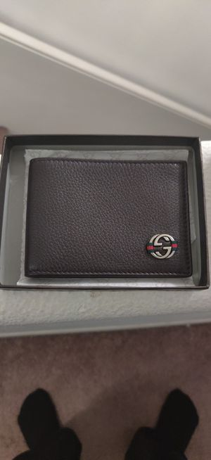 Gucci Leather Wallet for Sale in Fountain Valley, CA