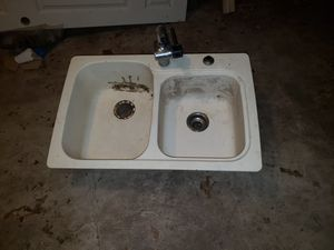 """SWANSTONE SERIES double Sink KSDB-3322 22"""" x 33"""" Double Bowl for Sale in Arlington, TX"""