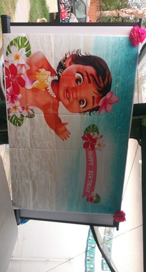 Baby Moana BackDrop. for Sale in Fresno, CA