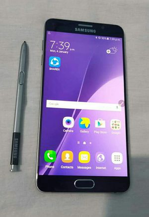SAMSUNG Galaxy Note 5, Factory Unlocked..( Almost New Condition) for Sale in Springfield, VA