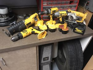 Dewalt power tools set 9pcs for Sale in Surprise, AZ