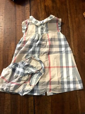 Burberry dress 12-24M for Sale in Fresno, CA