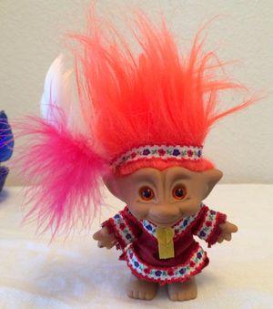 Ace Novelty Treasure Troll Doll American Indian Girl for Sale in Chesapeake, VA