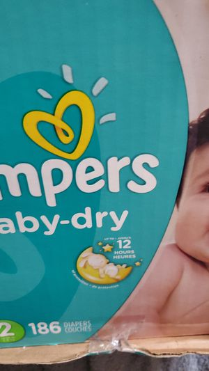 Pampers baby dry for Sale in Pumpkin Center, CA