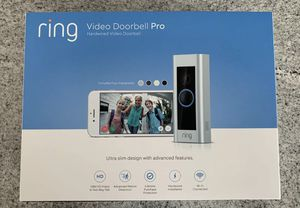 Ring Video Doorbell Pro NEW IN BOX RETAIL IS $200 for Sale in Los Angeles, CA