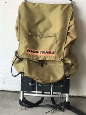 Camping Package - colman stove -2 sleeping bags -mattress - trail back pack for Sale in Brighton, CO