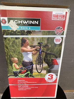 Schwinn 3 bike rack new!!! for Sale in Tampa, FL