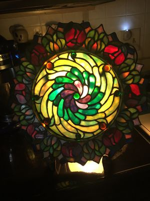 Antique Stained glass light, for Sale in Horsham, PA