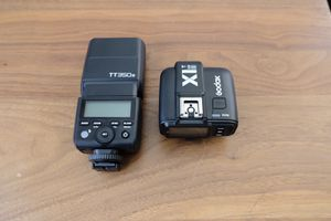 Godox TT350S flash and X1T transmitter for Sony camera for Sale in Long Beach, CA