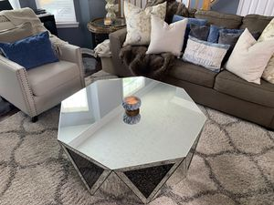 Mirrored Coffee Table for Sale in Upper Marlboro, MD