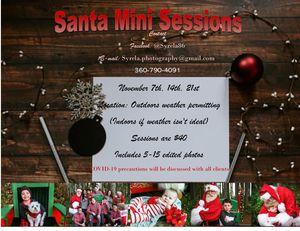 Santa mini sessions for Sale in Olympia, WA