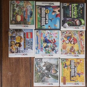 3DS Game Boxes Only for Sale in San Diego, CA