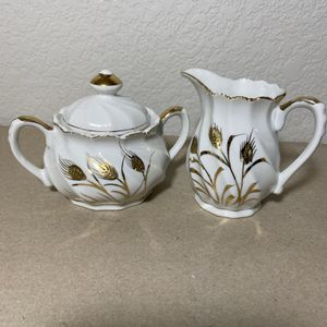 Vintage Lefton fine china creamer and sugar bowl for Sale in Colorado Springs, CO