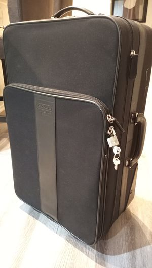 Coach Carry-on Rolling bag suitcase - Nice!!! for Sale in Ontario, CA