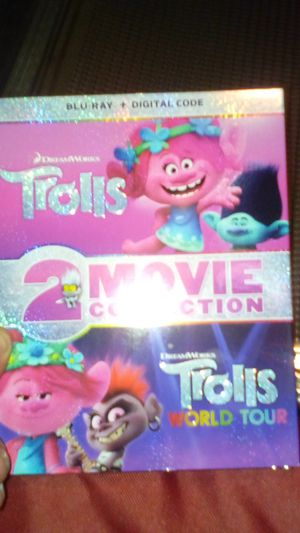 Trolls 1 and 2 on Blu ray for Sale in Jamul, CA
