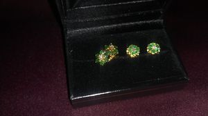 Emerald and Diamond set for Sale in Coppell, TX