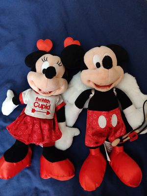 Valentine Minnie and Mickey collectible for Sale in Haines City, FL