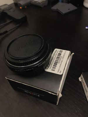 Fotodiox Canon FD to EF EOS lens adapter for Sale in Cedar Park, TX