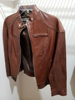 Leather jacket womens for Sale in Bellaire, TX