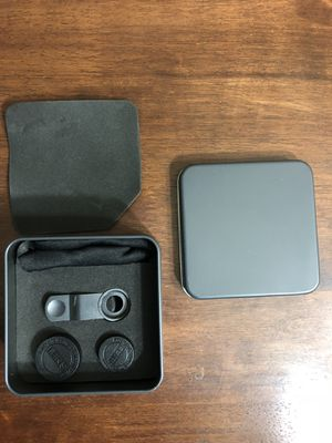 Lens set for phone camera w adjustable clip. Brand new for Sale in Lexington, KY