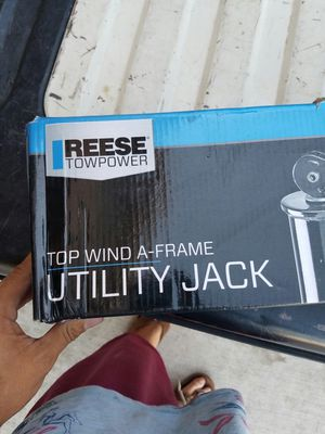 Reese top wind a frame trailer jack for Sale in El Cajon, CA