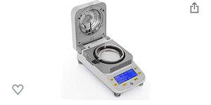 Moisture Analyzer 0.5g-50g Lab Moisture Analyzer with Halogen Heating for Rapid Moisture Test for Sale in Pomona, CA