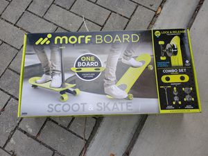 NEW morfboard skateboard and scooter combo for Sale in Anaheim, CA