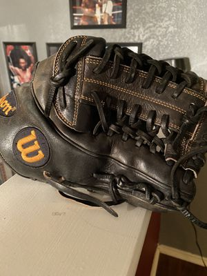 Wilson A2k OF/IF baseball glove 12in. for Sale in Lucas, TX