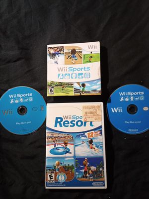 2 Wii Sports + Wii Sports Resort needs TLC for Sale in Tampa, FL